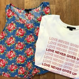 Forever 21 Graphic Shirt Lot